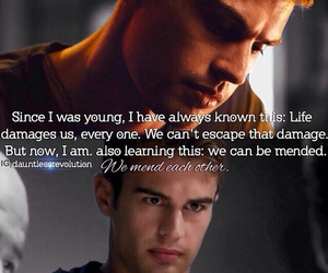 four, theo james, and divergent image