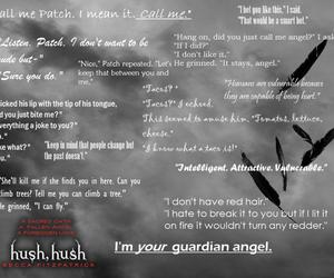 hush hush and patch image