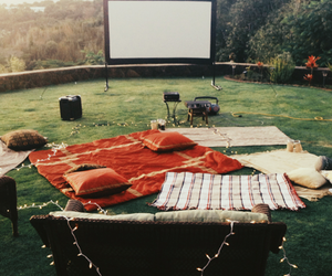movie, cinema, and light image