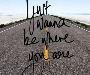love, quote, and road image