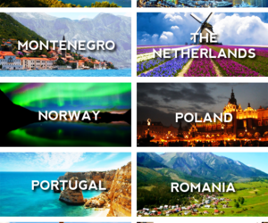 travel, portugal, and romania image