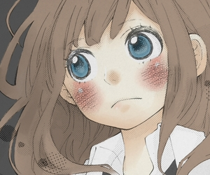 adorable, blush, and colored image