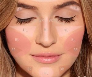 beauty, blush, and contouring image