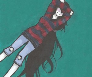 blush, marceline, and adventure time image