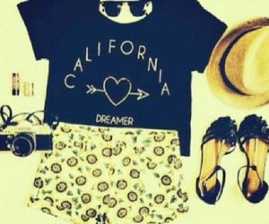 california, hipster, and nice image