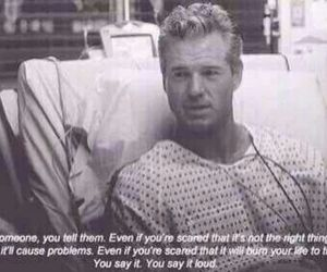love, quote, and grey's anatomy image