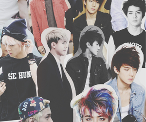 exo, Hot, and overlay image