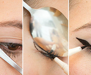 eyeliner, make up, and diy image
