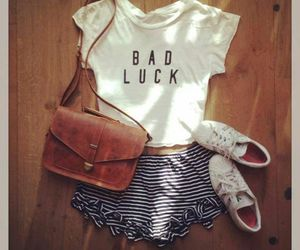 outfit, summer, and bad luck image