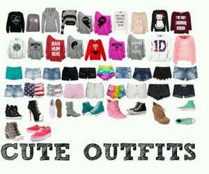 clothes, fashion, and hoodies image