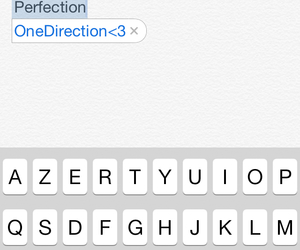 iphone, one direction, and perfection image
