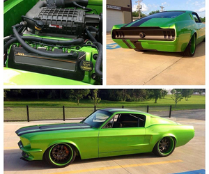 awesome, car, and green image