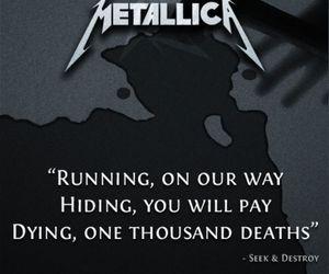 James Hetfield, metallica, and seek and destroy image