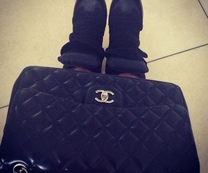 black, chanel, and luxury image