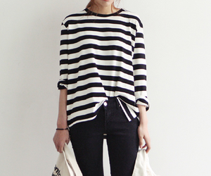 fashion, style, and stripes image