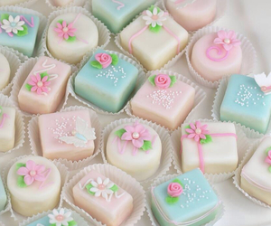 cakes, pastel, and sweet image