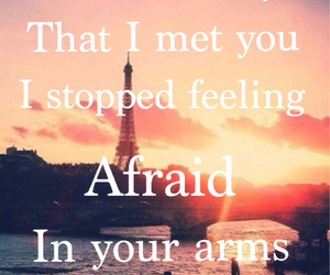 afraid, feel, and iloveyou image