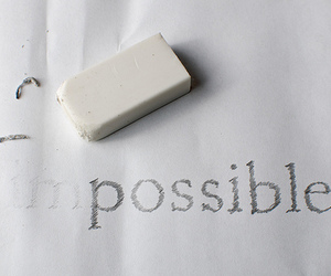 possible, impossible, and text image