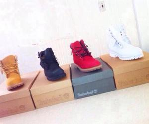 shoes and timberlands image