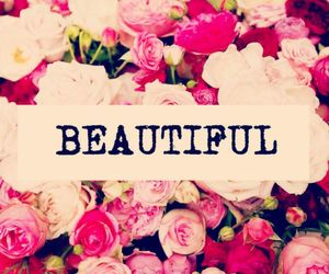 beautiful, pink, and flowers image