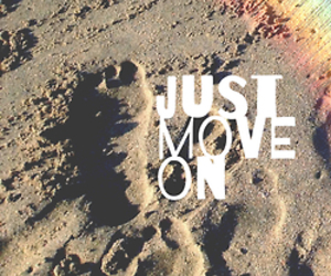 beach, quote, and Move image