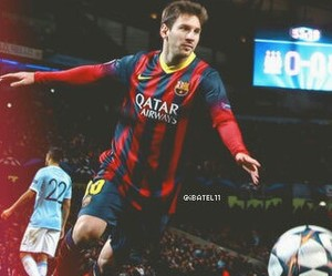 football, messi, and legend image