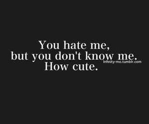 know, cute, and me image