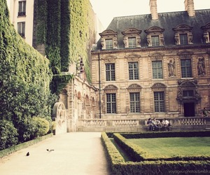 architecture, garden, and france image