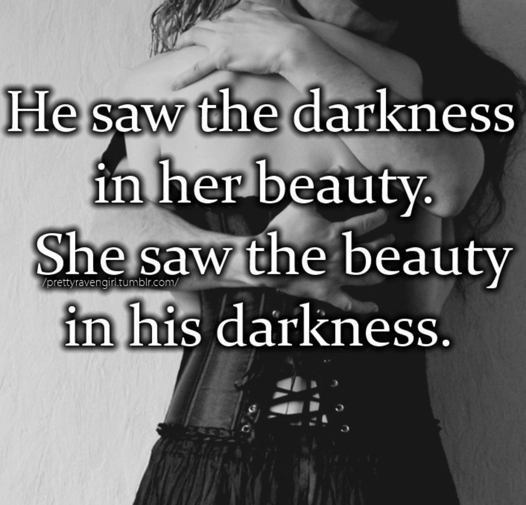 Perfect Love Quotes For Her Dark Love Uploadedstarla Brines On We Heart It
