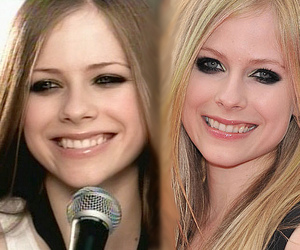 adorable, Avril Lavigne, and beautiful image