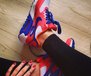 girl, nike, and shoes image