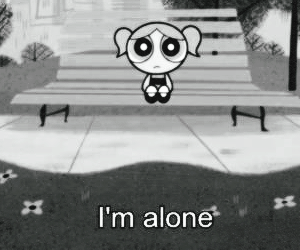 alone and header image