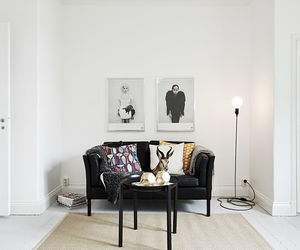 interior, picture, and pillow image