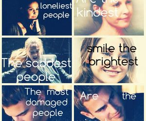 sad, divergent, and four image