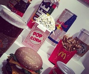 food, luxury, and popcorn image