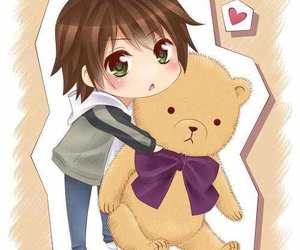 anime, bl, and chibi image
