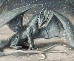 beautiful, dragons, and fantasy image