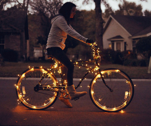 bicycle and light image