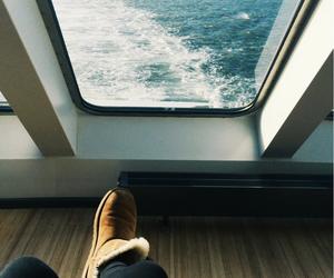girl, holidays, and sea image