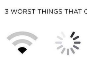 wifi, funny, and worst image
