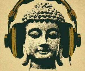 music, Buddha, and buddhism image