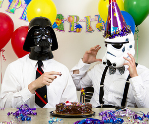 star wars, birthday, and darth vader image