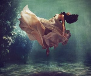 dress, water, and sea image