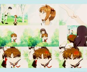 anime, tomoyo, and sakura kinomoto image