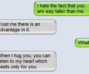 awkward, boyfriend, and conversation image