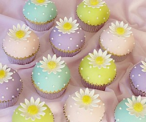 cupcake and daisy image