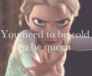 frozen, Queen, and cold image