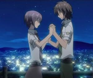 anime, dancing, and couple image