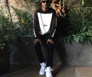 asap rocky, style, and swag image
