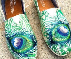 peacock, love, and shoes image